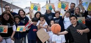 Voluntarios Telefónica de América y Europa llegan a Ecuador