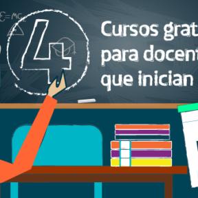 4 Cursos gratuitos para docentes que inician en marzo