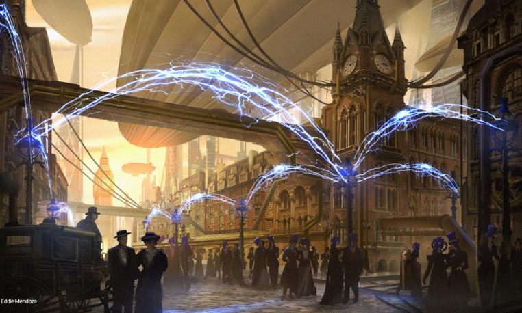 TeslaPunk: La ciencia ficción inspirada en la tecnología de Tesla