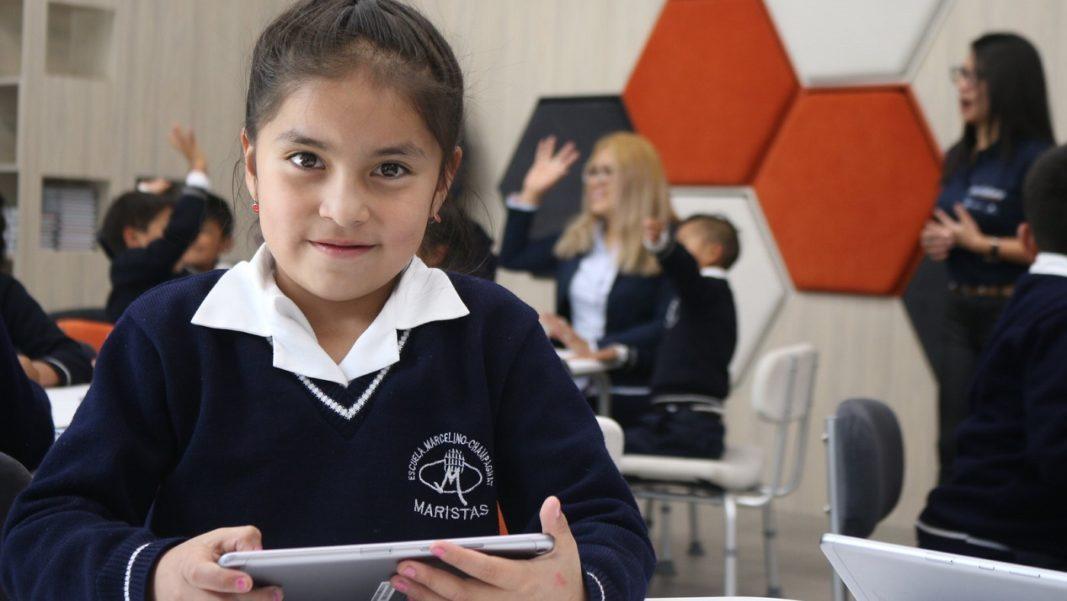 """Fundación Telefónica Ecuador y """"la Caixa"""" Foundation inauguraron el Espacio Educativo ProFuturo"""