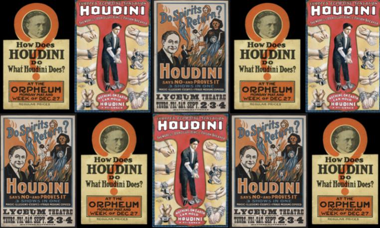 Houdini. Las leyes del asombro