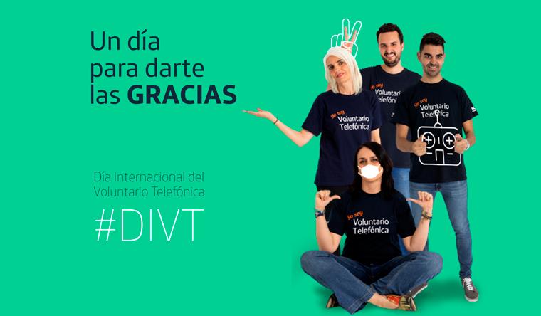 Más de 500 Voluntarios Telefónica Movistar Ecuador están listos para vivir el #DIVT 2020 en su formato 100% virtual