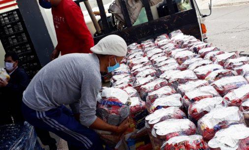 Fundación Telefónica Movistar Ecuador apoya con USD $45.360,00 para la entrega de kits alimenticios a familias afectadas por la emergencia