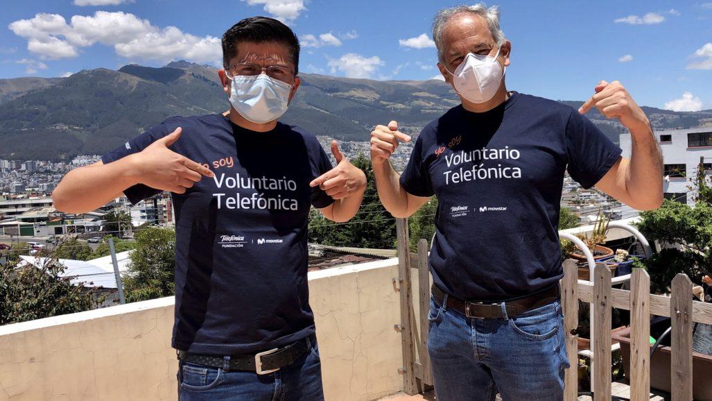 Más de 500 Voluntarios Telefónica Ecuador vivieron la edición 100% virtual del #DIVT 2020